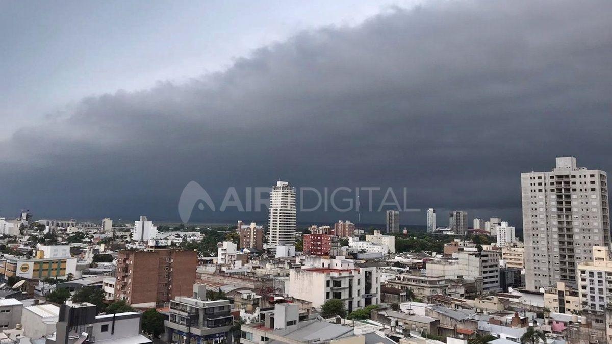 Santa Fe y la región, bajo alerta meteorológico por posibles tormentas fuertes