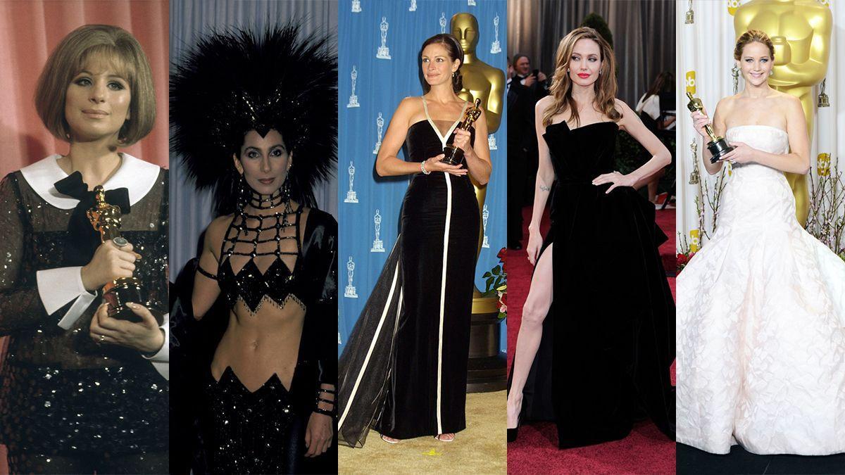 Los looks más icónicos de la historia de los Oscars