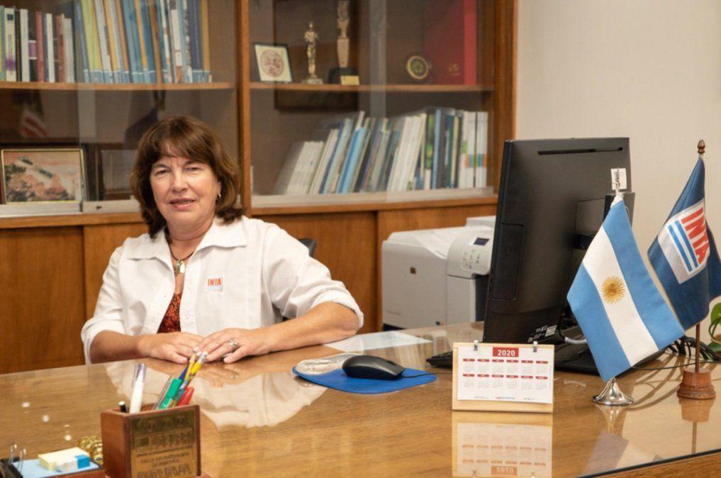 Susana Mirassou, la primera mujer que preside el Inta comenzó a realizar este viernes sus funciones