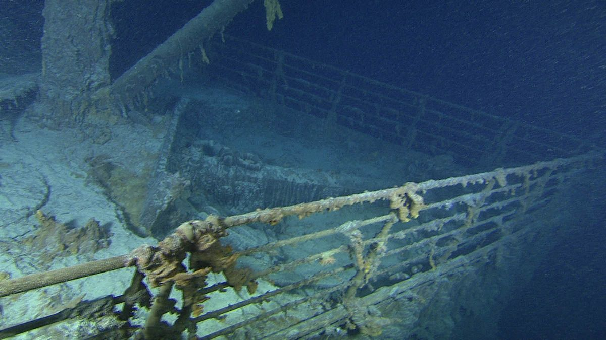 Los restos del Titanic