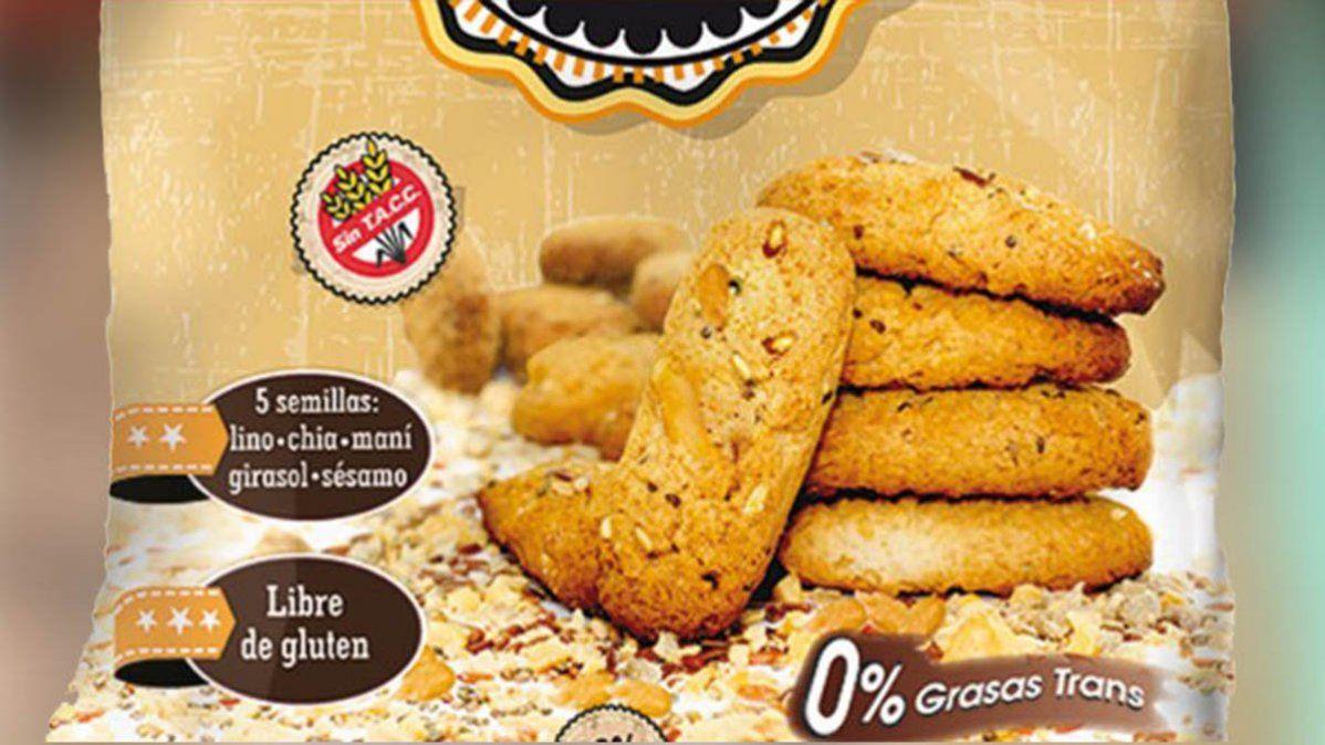 Anmat retiró provisoriamente unas galletitas dulces que no advierten a alérgicos.