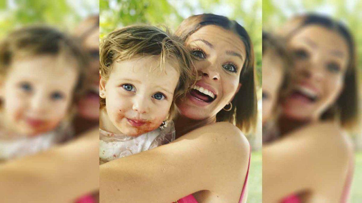 La China Suárez sorprendió con una foto inédita de los minutos previos al parto de Magnolia