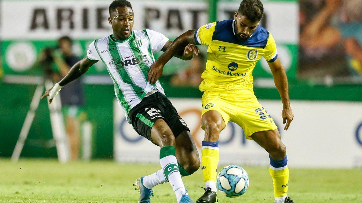 Banfield y Rosario Central encontraron los goles sobre el final y empataron 1-1