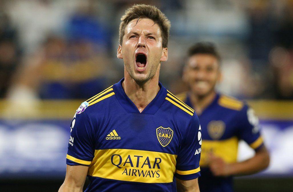 Boca derrotó a Atlético Tucumán y alcanzó a River en la cima de la Superliga