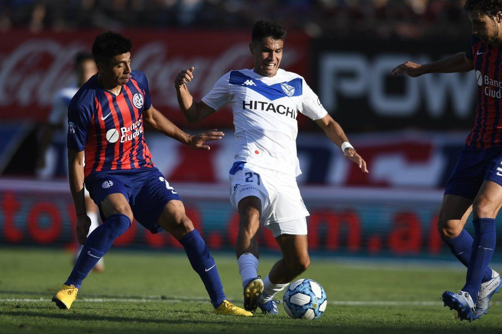 En un partido caliente, San Lorenzo venció a Vélez como local