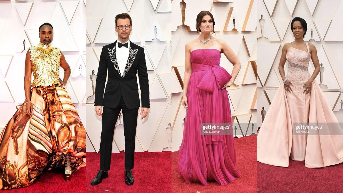Los looks más destacados de las estrellas en la 92° entrega de los Oscars