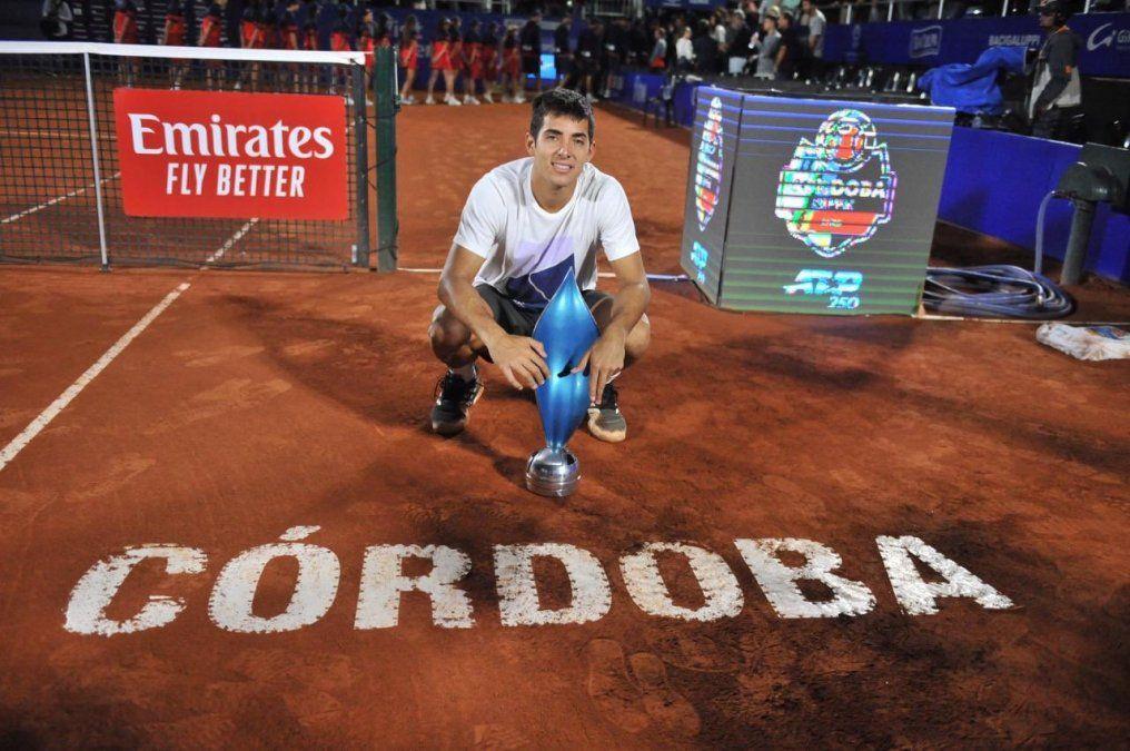 En una batalla física, Peque Schwartzman perdió el Córdoba Open ante Garín