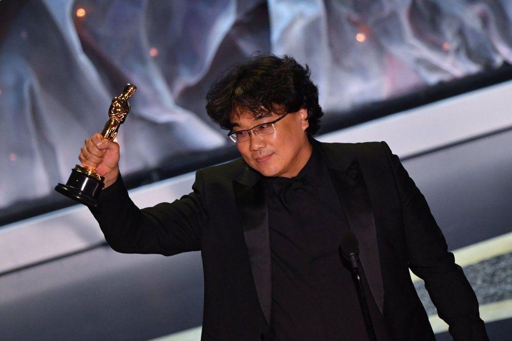La coreana Parasite ganó el Oscar a Mejor Película Internacional y a Mejor Dirección