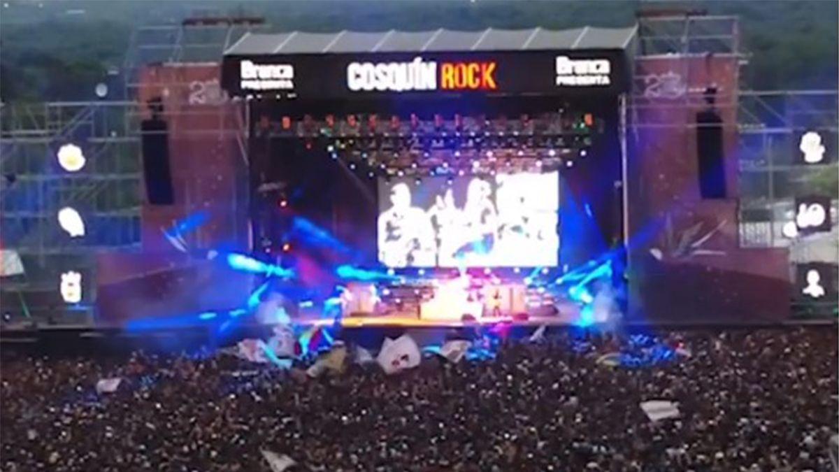 Lo mejor del Cosquín Rock, en fotos