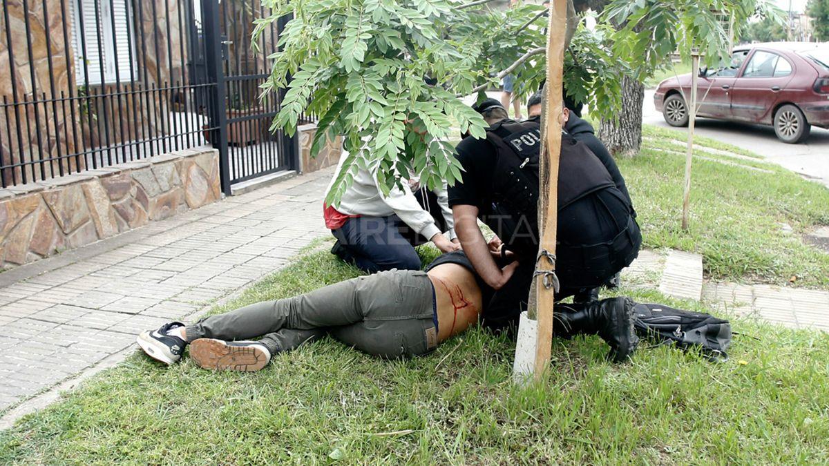 Lautaro fue encontrado por su padre apenas sufrió el disparo.