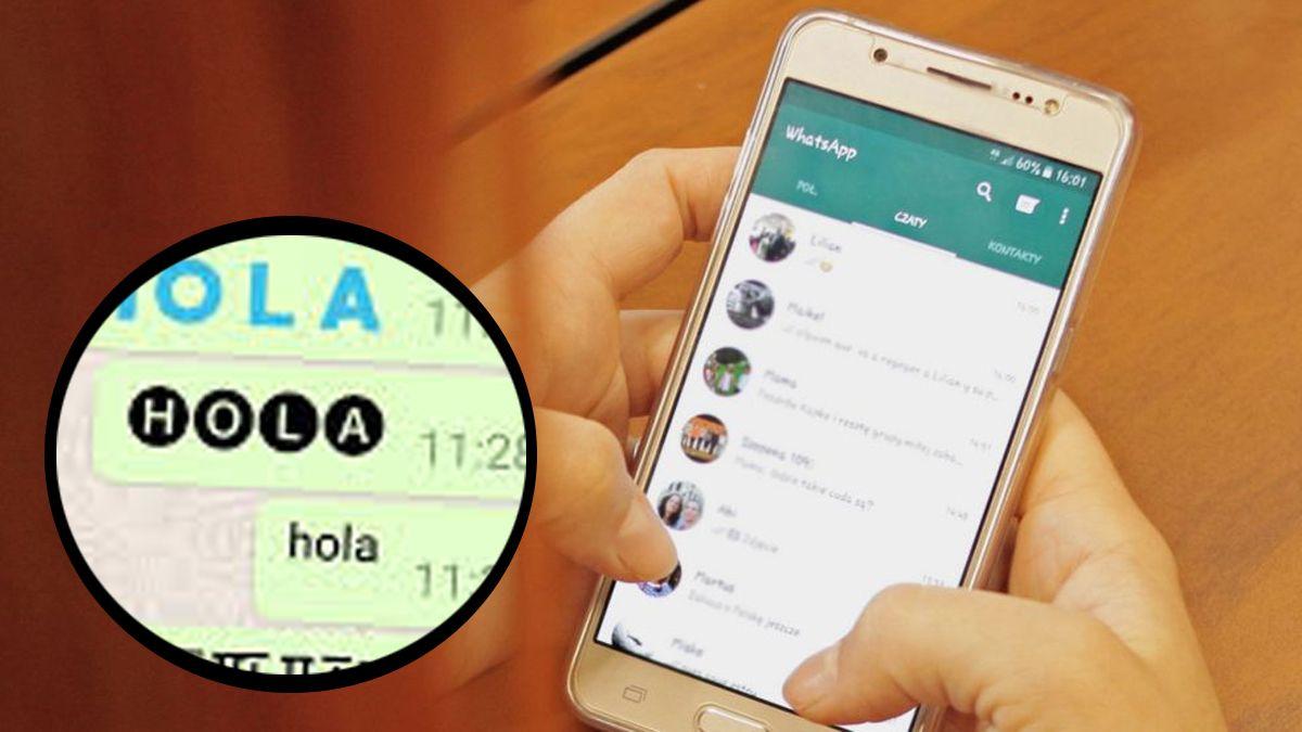 WhatsApp: así se cambia el formato, tamaño y fuente de letra