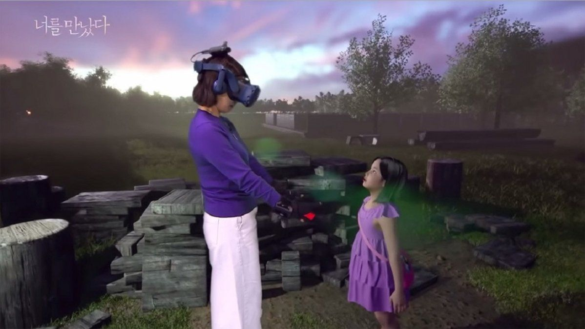 Video: así es la realidad virtual resucitó a una niña de 7 años para que pueda reencontrarse con su madre