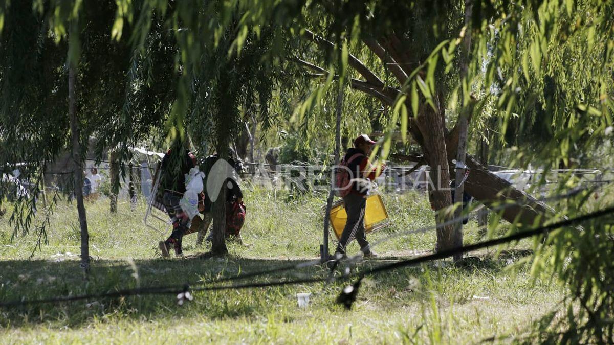 162 familias ocuparon irregularmente los terrenos nacionales