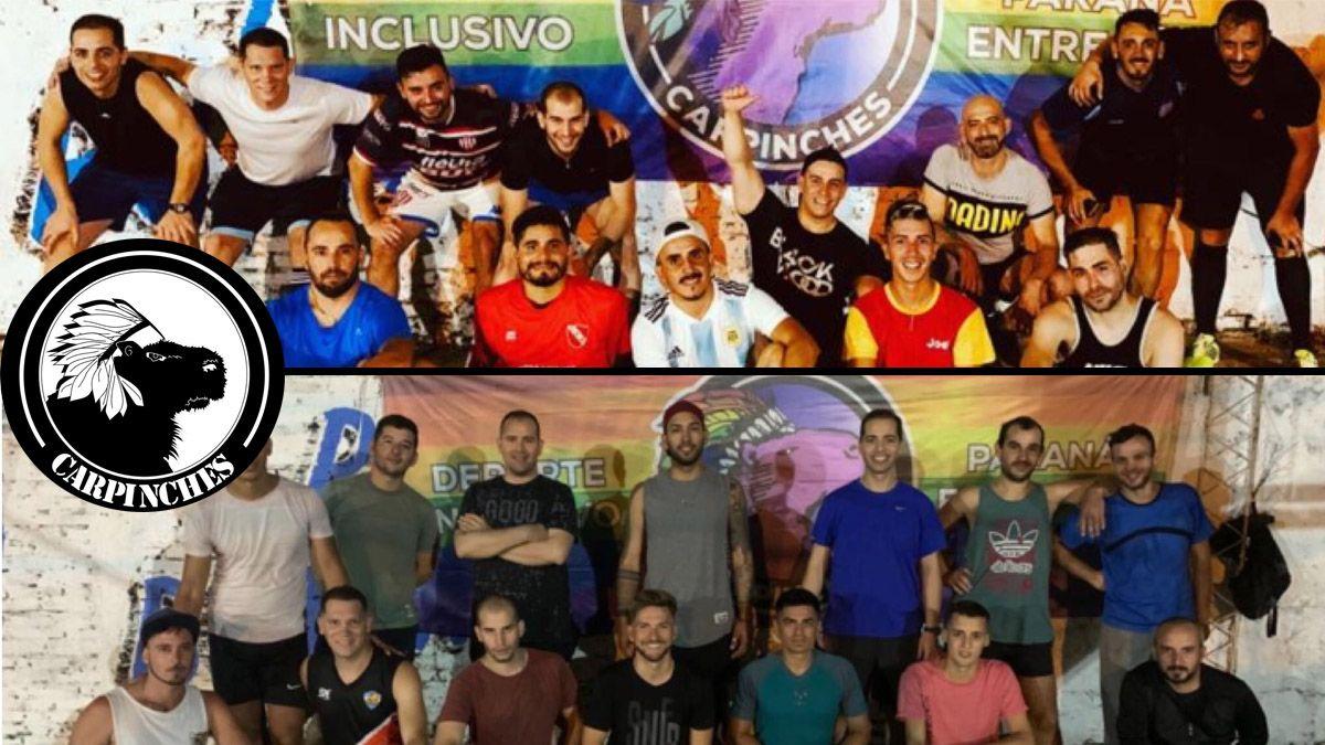 Los Carpinches, un grupo deportivo LGBT que viene a cuestionar el paradigma que los excluyó