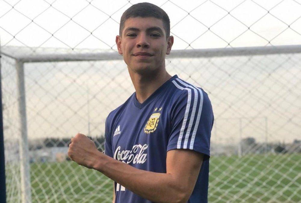 Leandro Quiroz, de Colón, convocado a la Selección Argentina sub-17