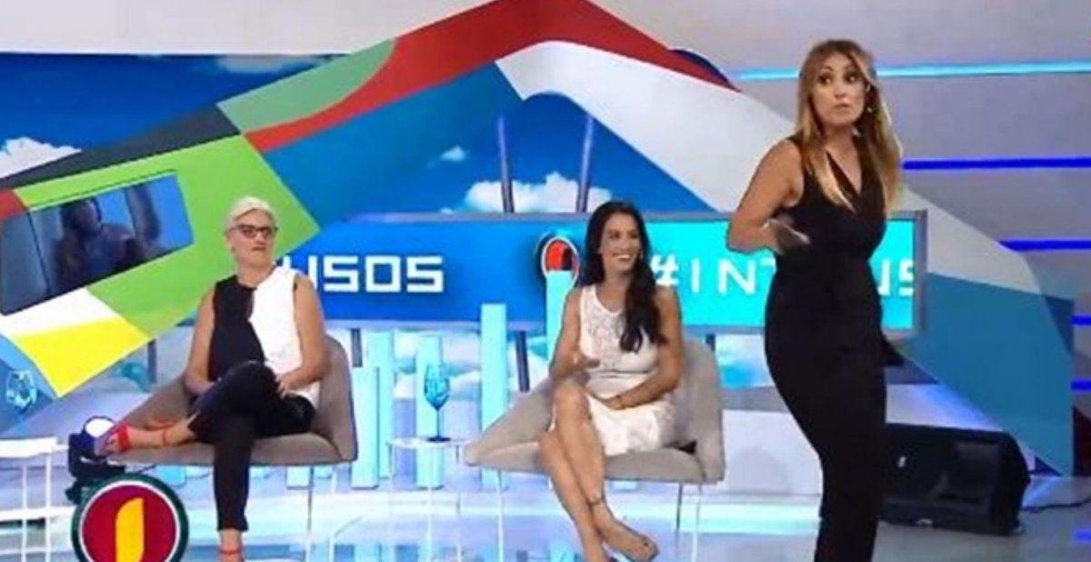 Marcela Tauro se retiró de Intrusos tras escuchar el descargo de Jimena Barón