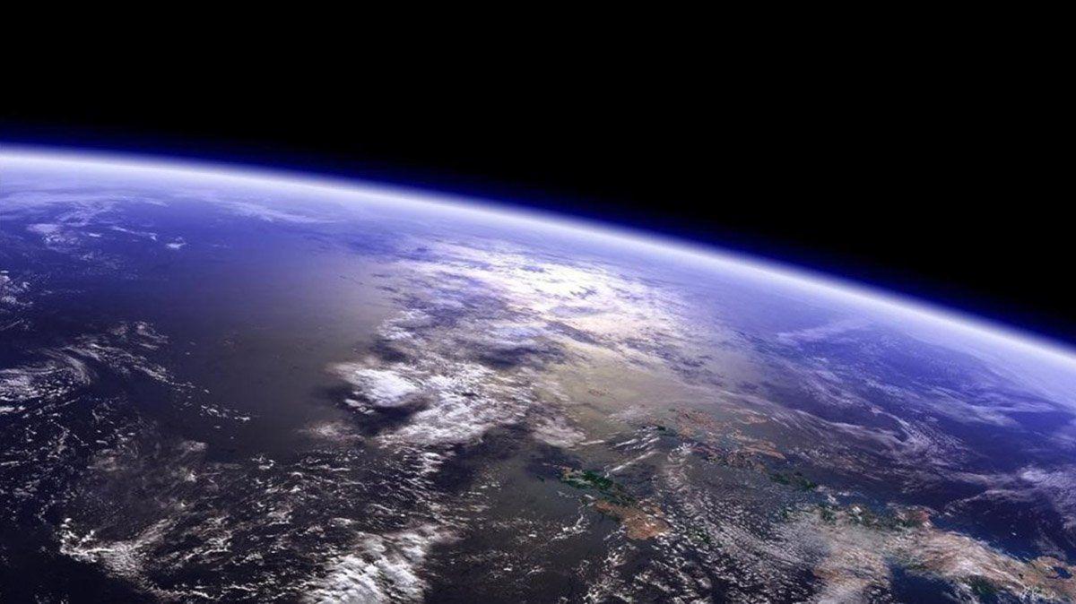 La Tierra desde la Estación Espacial Internacional.