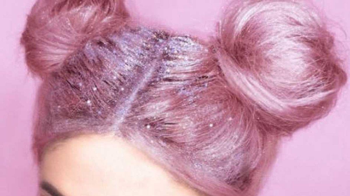 Glitter en el pelo, la nueva tendencia con la que deslumbraras a todos