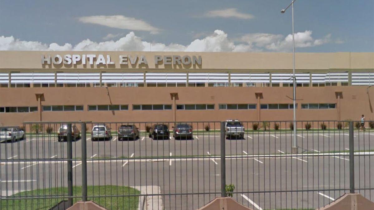 Hospital Eva Perón fue donde se le practicó la cesárea a la nena