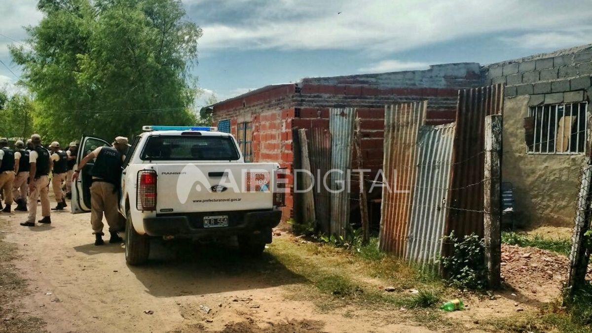 La vivienda en la que se atrincheró Cano luego de asesinar a Vanesa Castillo. Foto: Archivo / Aire Digital