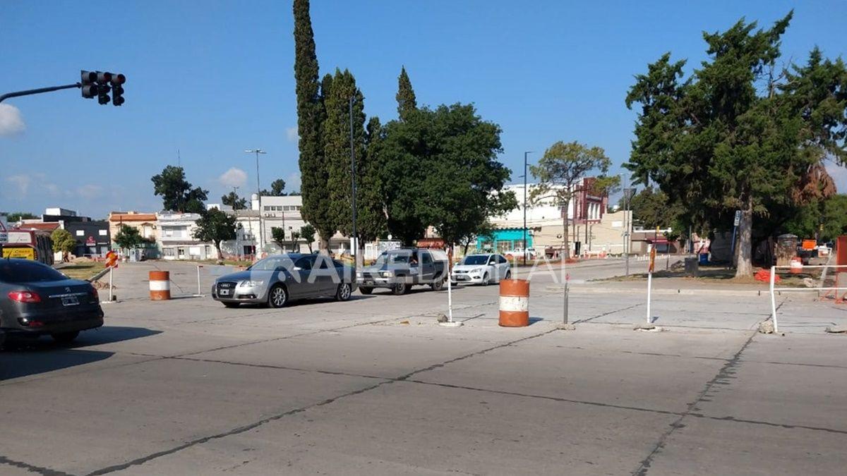 Habilitaron el tránsitoen avenida Perón y bulevar Pellegrini e inmediaciones