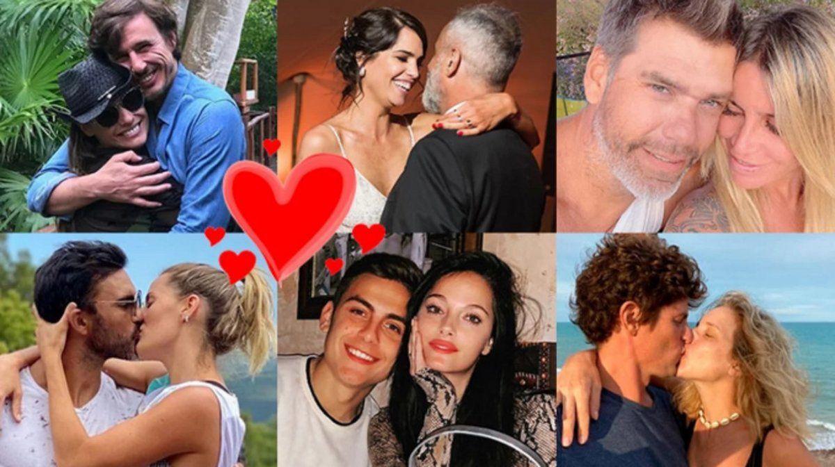 San Valentín: poliamor, romance, corazones solitarios y mucho más, los saludos de los famosos en el día de los enamorados