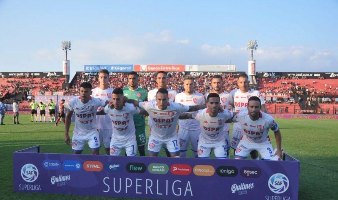 Con un gol sobre el final y un hombre menos, Unión perdió con Patronato