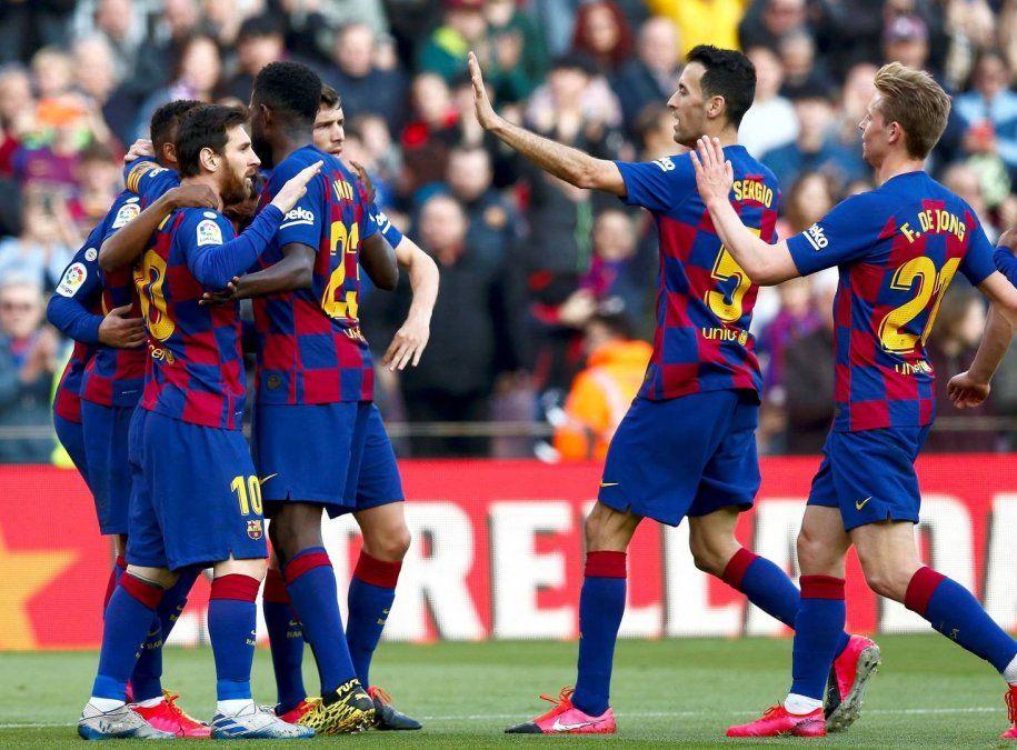 Barcelona, con Messi en cancha, sufrió el triunfo ante el Getafe