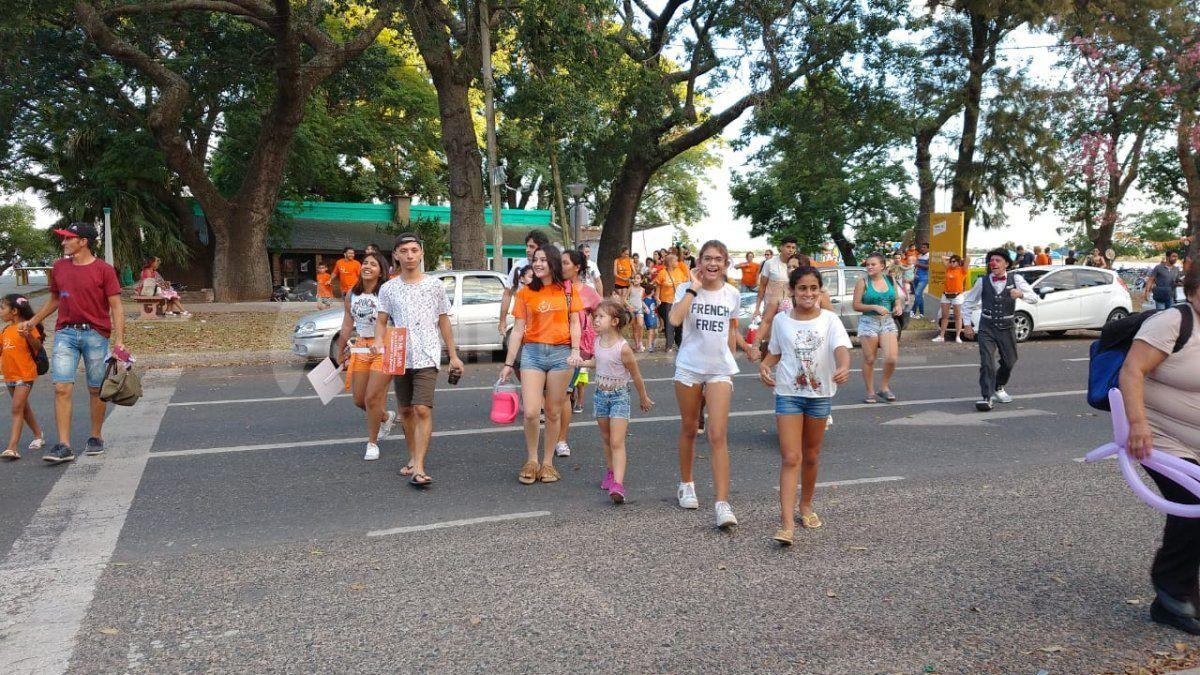 Conmemoraron el Día Internacional de la Lucha Contra el Cáncer Infantil con un jardín de los deseos