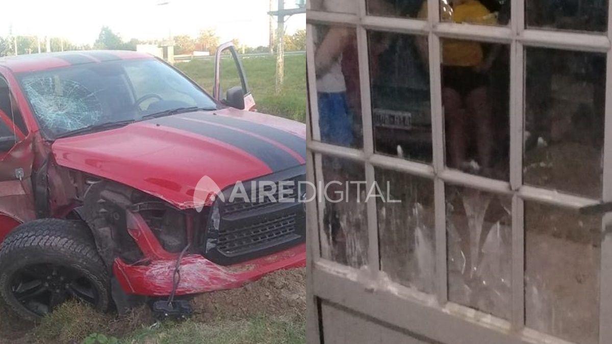 Un conocido abogado de Santa Fe involucrado en un accidente, resistencia a la autoridad y destrozos a una comisaría
