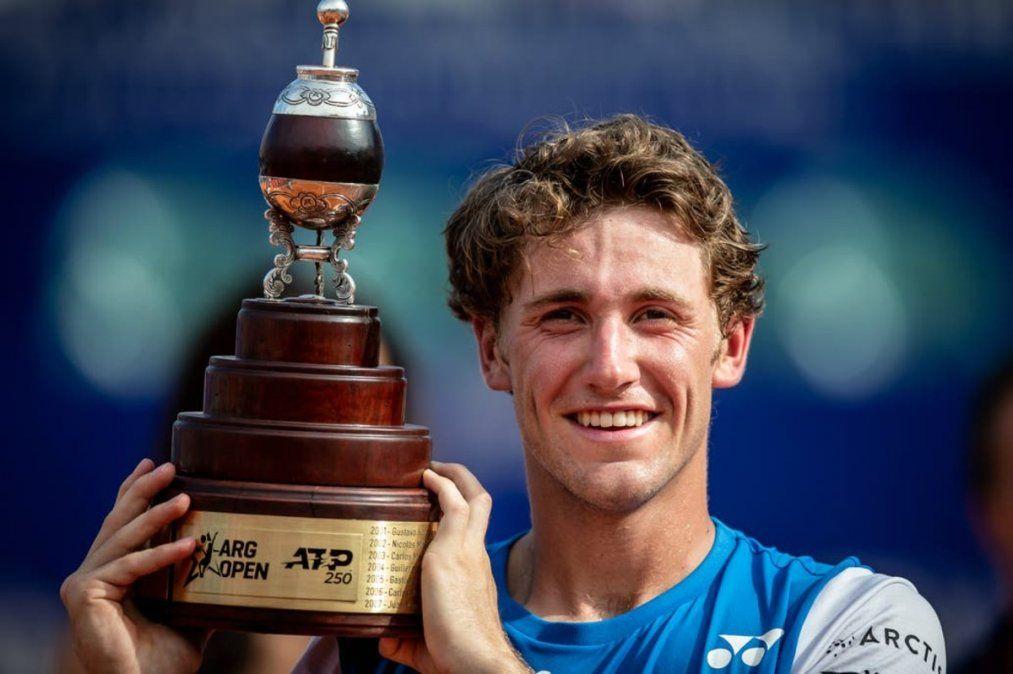 Casper Ruud se consagró campeón del Argentina Open