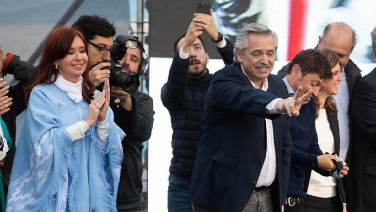 Alberto Fernández volvió a respaldar el pedido de Cristina Kirchner para que el FMI haga una quita.