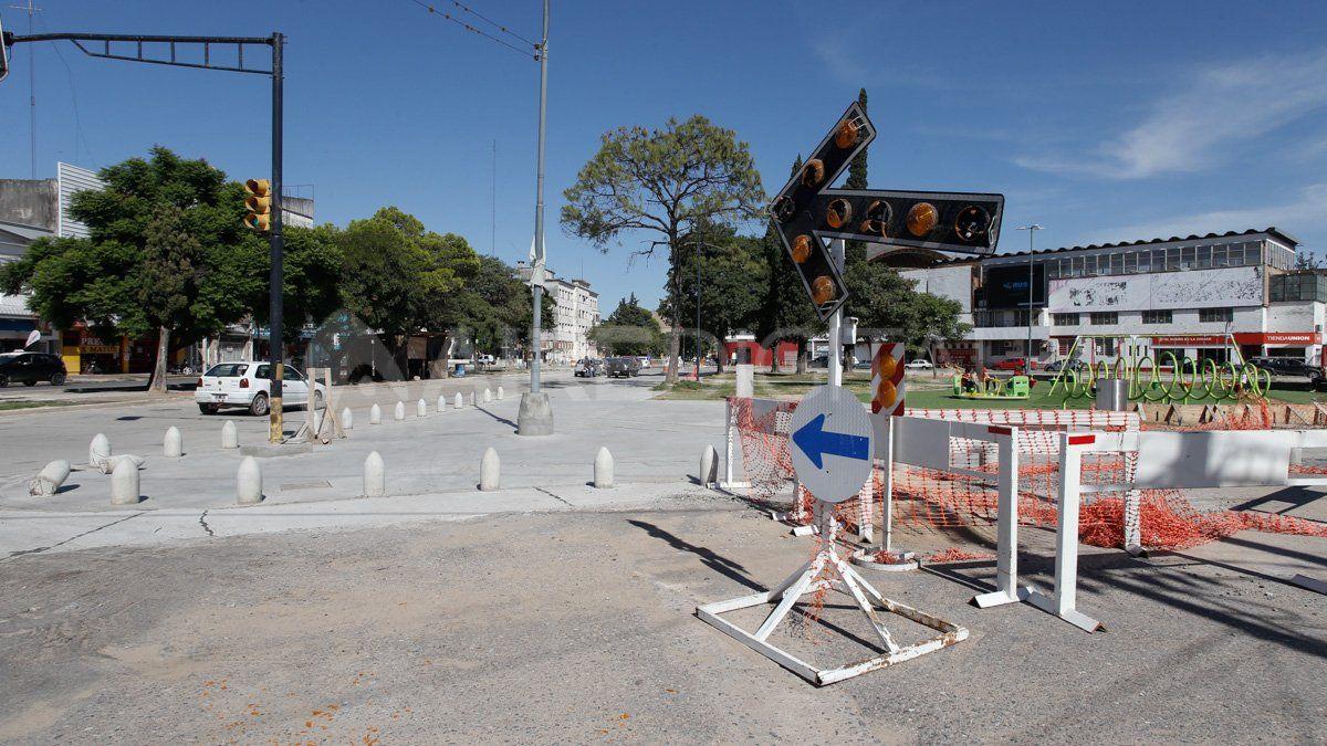 Exrotonda de Unión: este viernes se habilitará un nuevo tramo y prevén terminar la obra los primeros días de abril