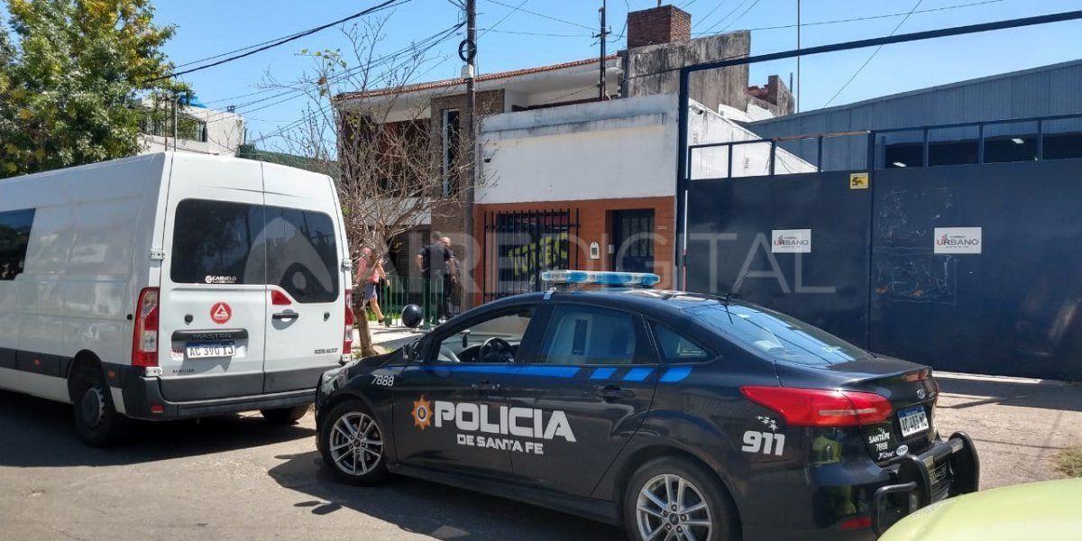 Entradera en el barrio Mariano Comas