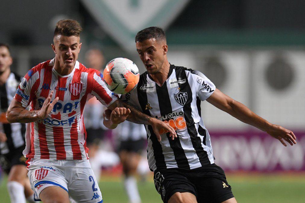 Unión sufrió, perdió, pero sigue vivo en la Copa Sudamericana