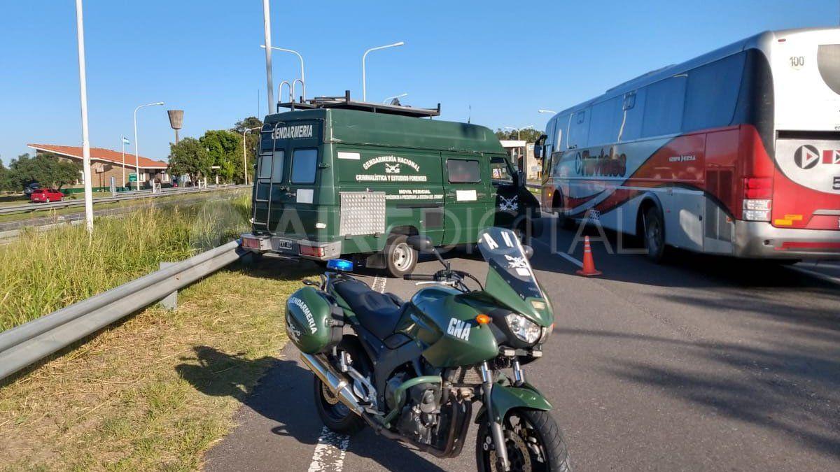 Gendarmería detuvo la marcha de un coche proveniente de Misiones