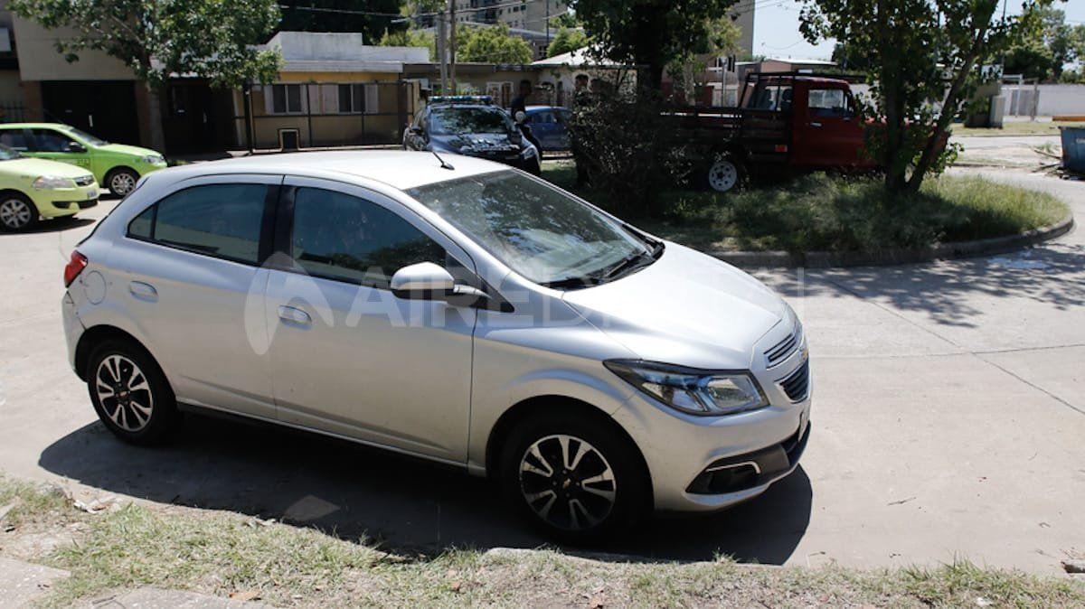 Auto encontrado en el barrio El Pozo