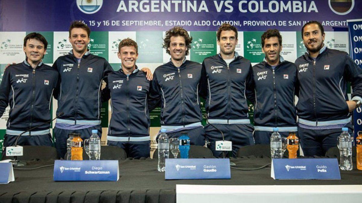 Colombia ya tiene el equipo que jugará ante la Argentina en la Copa Davis
