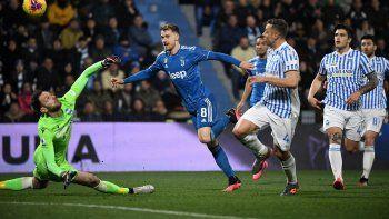 Con participación de Dybala, Juventus venció al SPAL y sigue como líder de la Serie A