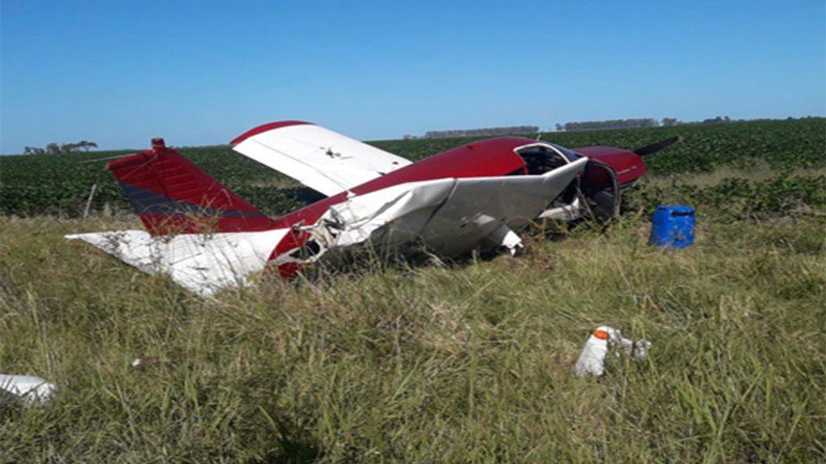 La avionetaes unaPipper Cherokee que no tenía permiso para entrar al país. Y fue tripulada por un paraguayo que actualmente se encuentra detenido.