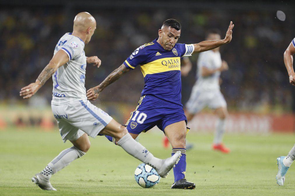 Boca goleó a Godoy Cruz y le metió presión a River