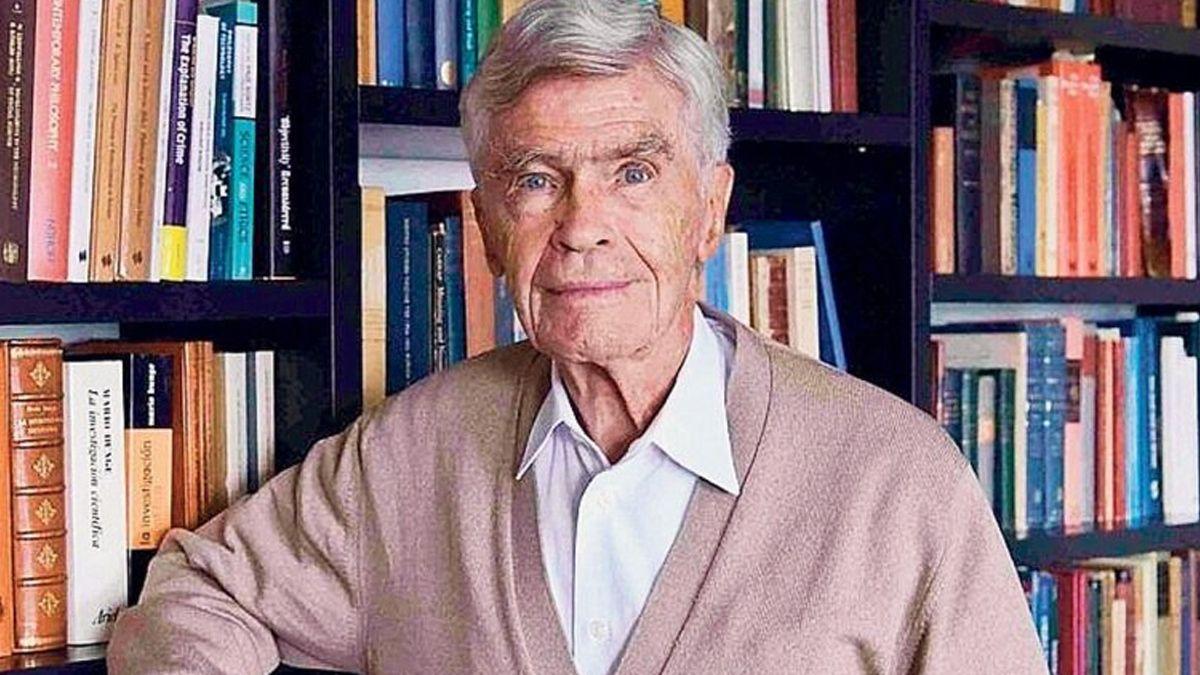 A los 100 años murió el físico argentino Mario Bunge, el mayor exponente de filosofía de la ciencia