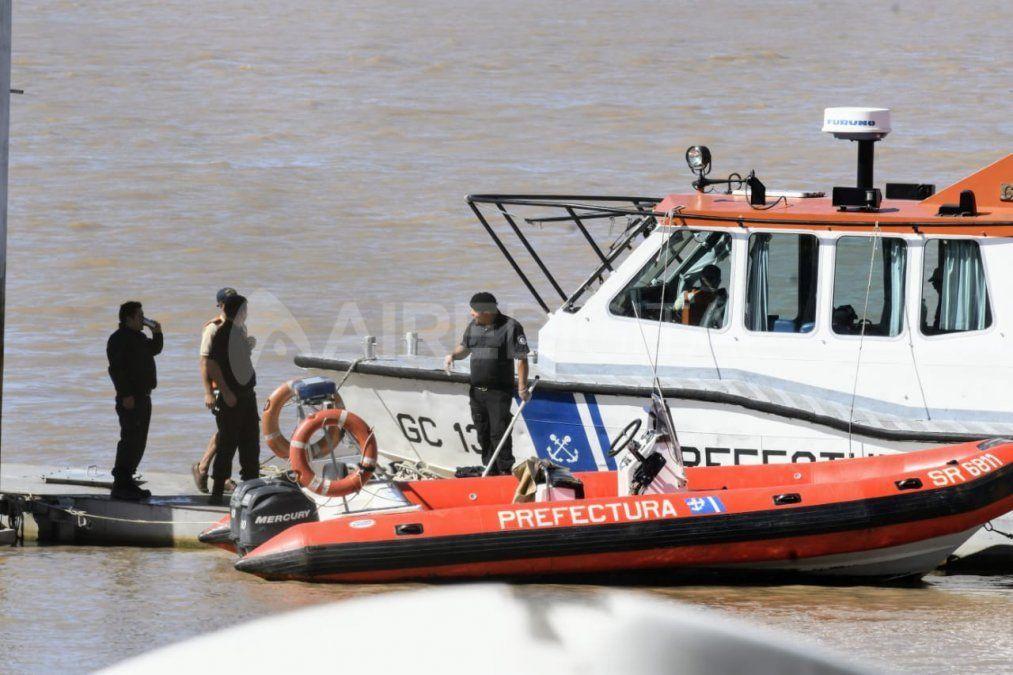 Confirmaron que el cadáver hallado en el río Paraná es del joven desaparecido el lunes a la madrugada
