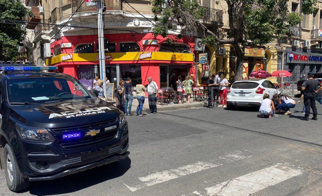 Falleció la mujer de 79 años que fue atropellada por un auto en el centro
