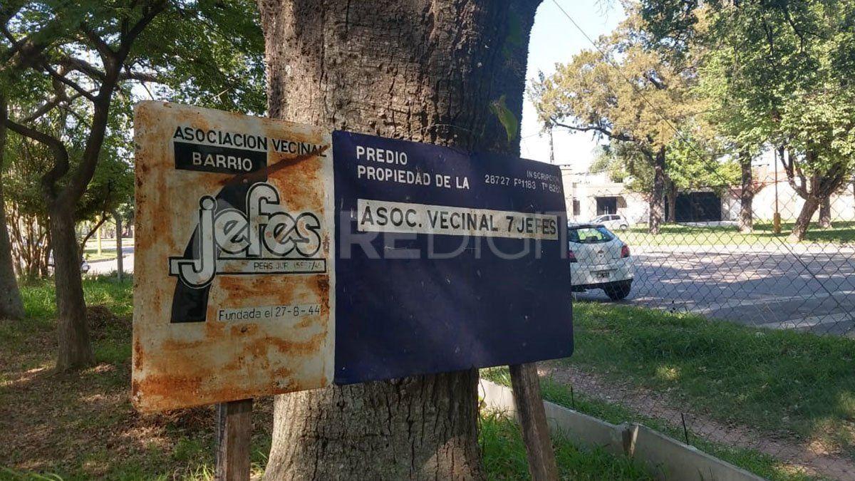 La vecinal Siete Jefes convoca a los vecinos a debatir este sábado por la inseguridad