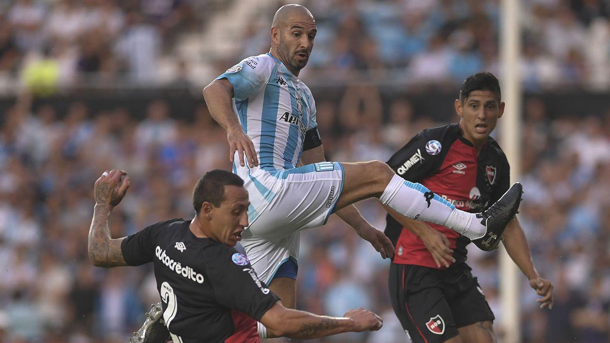 Racing y Newells igualaron 1-1 en el Cilindro de Avellaneda