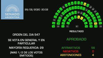 El Senado sancionó la Ley de Góndolas con el apoyo de la oposición: cuáles son los principales puntos