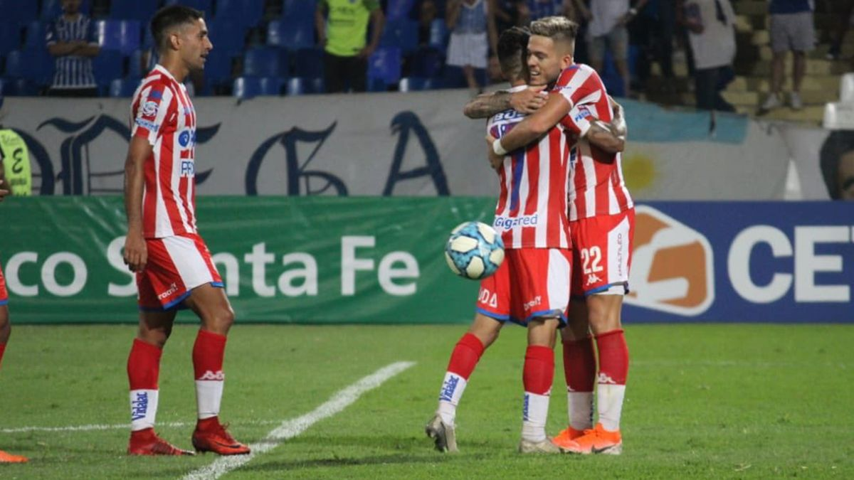 En el partido récord de Madelón, Unión lo remontó y derrotó a Godoy Cruz en Mendoza
