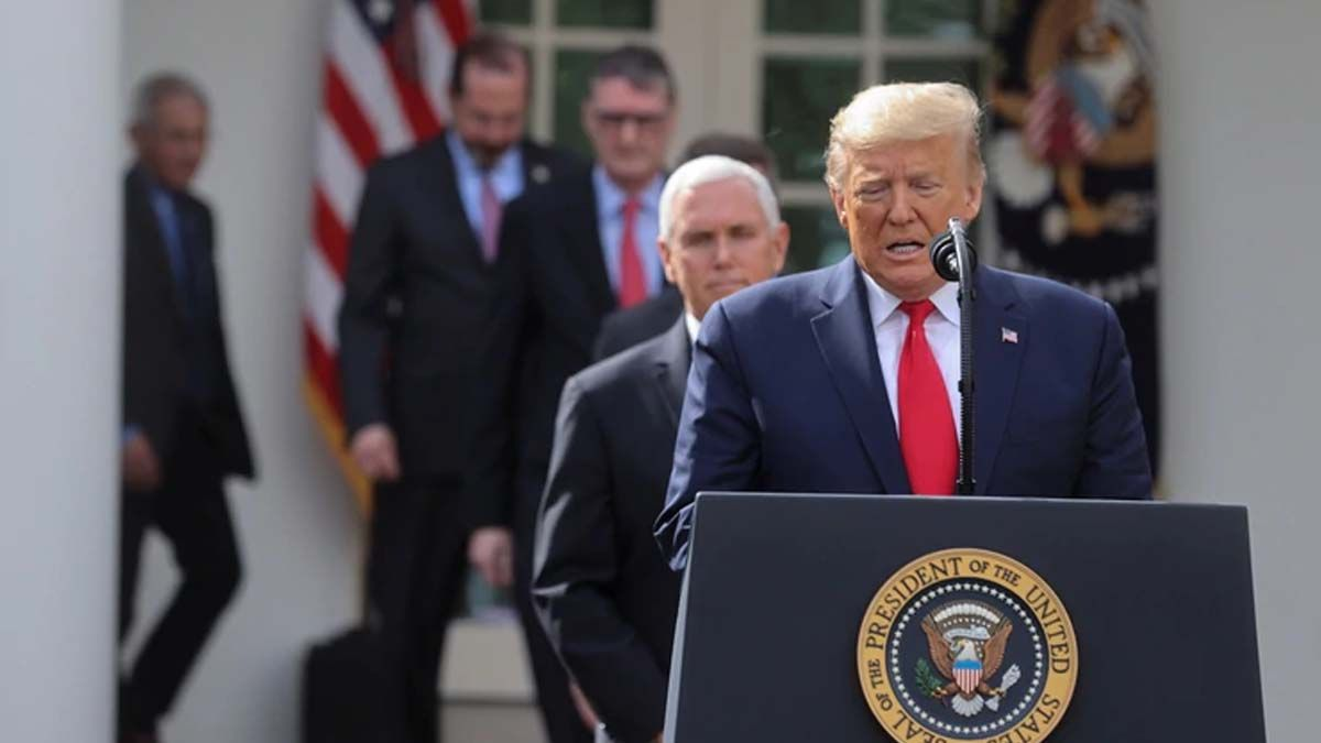 Coronavirus: Donald Trump moviliza a la Guardia Nacional a Nueva York, California y Washington