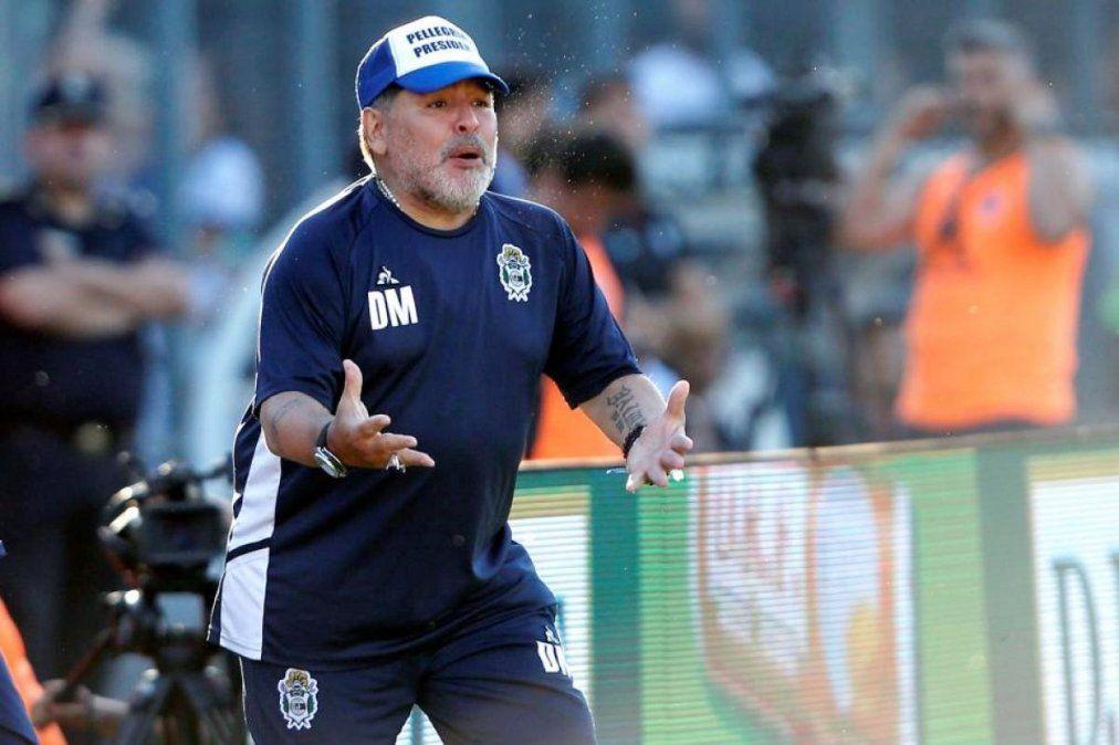 El presidente de Gimnasia y Esgrima de La Plata dijo que desde el entorno de Diego nos dijeron que no aceptaban la oferta de renovación.
